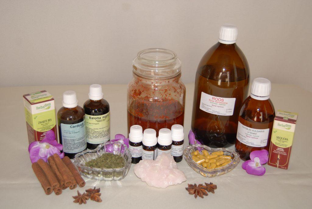 in fytotherapie zijn er veel mogelijkheden om kruiden te verwerken