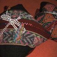 een incahealing wordt uitgevoerd met de khuya's uit de mesa, chakanaherb Marke